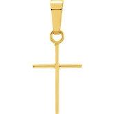 Stuller-Cross Pendant R16159