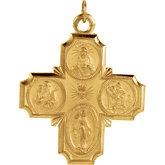 Stuller-Four Way Cross Medal r5036