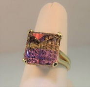 Designer Cut Ametrine Ring