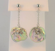 Keshi Pearl Drop Earrings