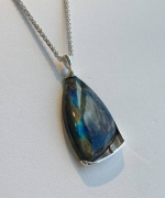 Northern Lights Labradoraite Pendant