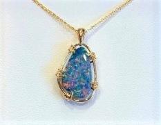 Opal Doublet Pendant
