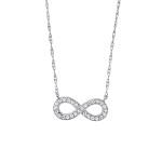 David Connolly-Diamond Infinity Necklace-3057W