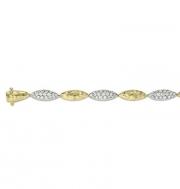 Pejay Creations-Ashley gold bracelet