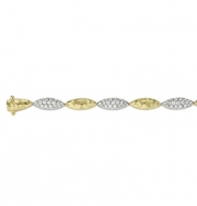 Pejay Creations-Ashley gold bracelet