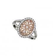 PeJay Creations-Rose gold/Diamond ring-#FD9957