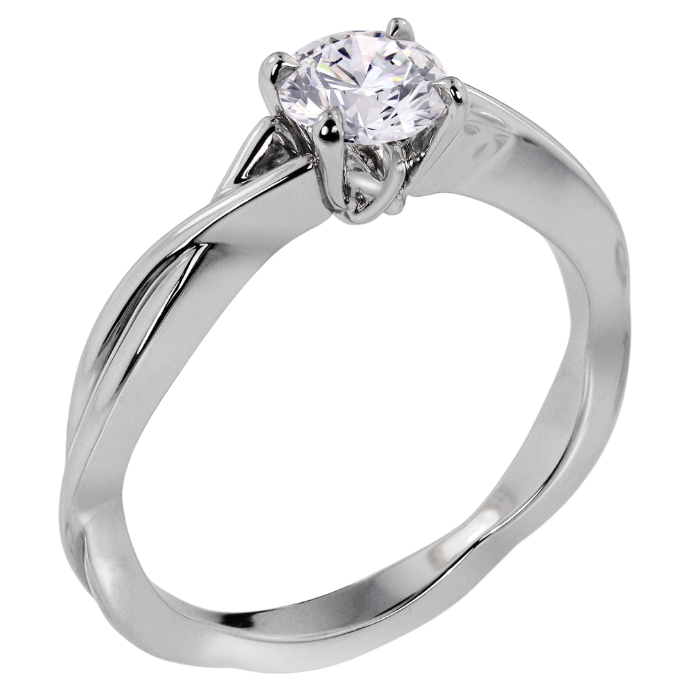 rings cut style solitare whiteview ring engagement princess solitaire basic tiffany