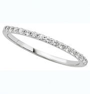 PeJay Creations- Classic Collection Band Prong Setting 16 Diamond .22 Ct tw ED1997WBd1