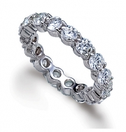 PeJay Creations- Classics Collection Eternity Band 3-Prong Setting