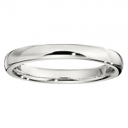 Jabel- Low Domed Comfort Fit Seamless Band 2.5 mm Wide Style NSSW1661