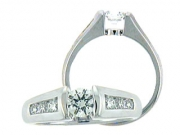 Luminar Creations- Semi-mount with Diamonds Style L6369