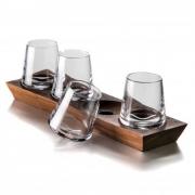 Simon Pearce- Whiskey Glass Set