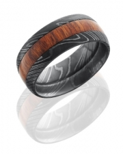 Lashbrook Designs- Damascus Steel with Cocobolo Wood Inlay DHW9D14