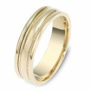 Dora Bands- Yellow Gold Wedding Band Style 5018