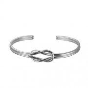 Dobbs of Boston- Sterling Silver Love Knot Bangle