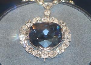 The famous Hope Diamond