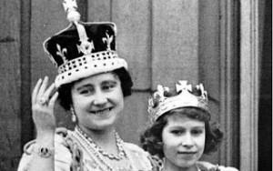 The Koh-i-Noor is in the cross atop the Queen's crown.