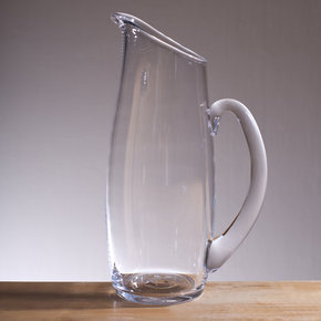 Glass Simon Pearce Pitcher