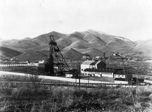 The Campbell shaft, courtesy of the Arizona Historical Society