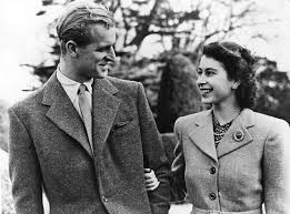 Queen Elizabeth and Prince Phillip in their youth