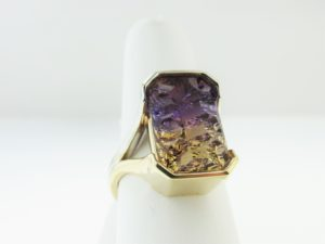 Custom-made Ametrine Ring in our showcase!