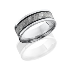 Lashbrook's Meteorite Men's Wedding Band